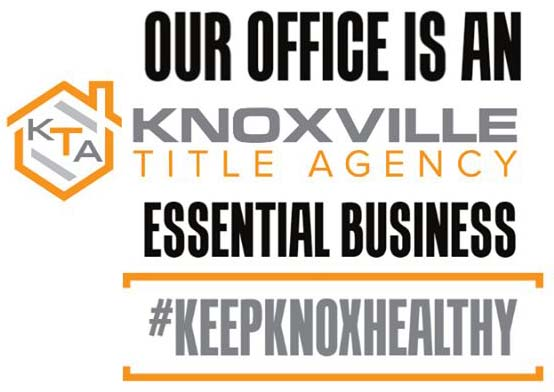 Knoxville Title Agency is an Essential Business